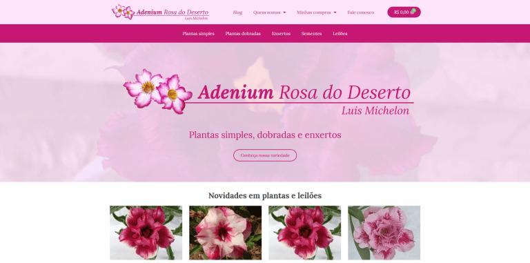 Adenium Rosa do Deserto