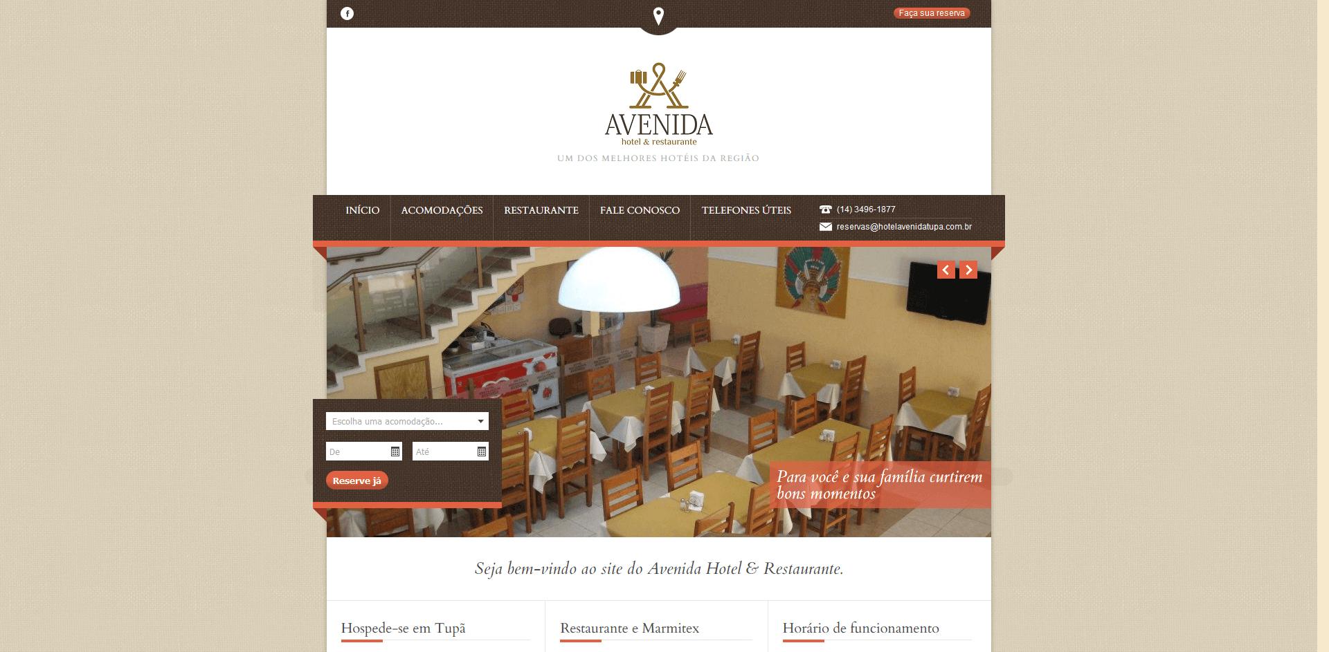 Read more about the article Hotel e Restaurante Avenida