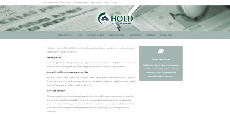 Hold Gestão Patrimonial