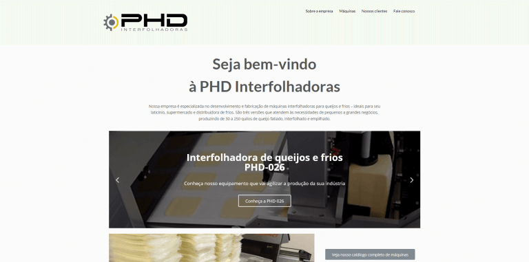 PHD Interfolhadoras