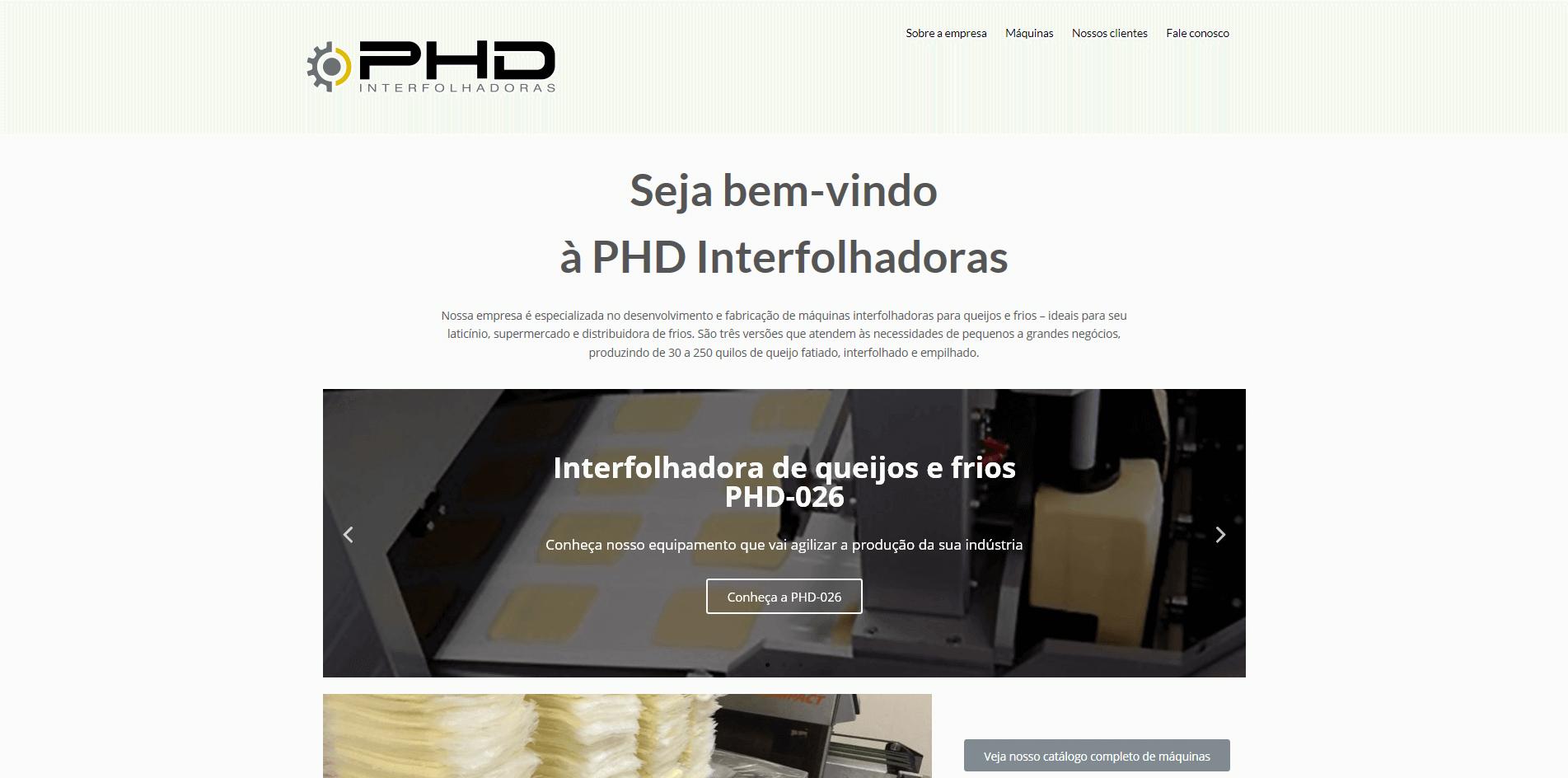 PHD Interfolhadoras