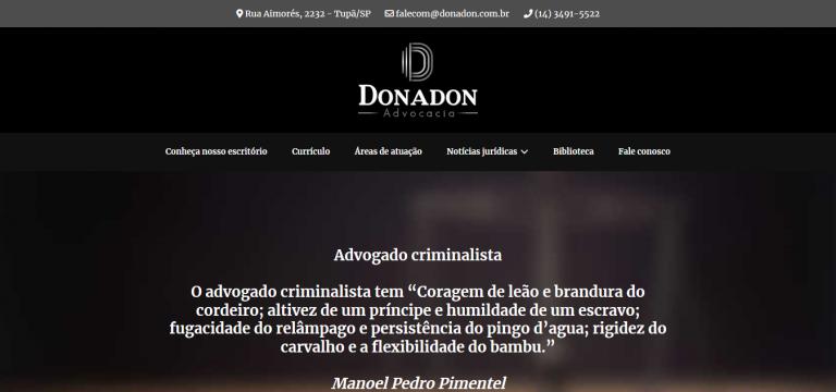 Fábio Donadon Advocacia
