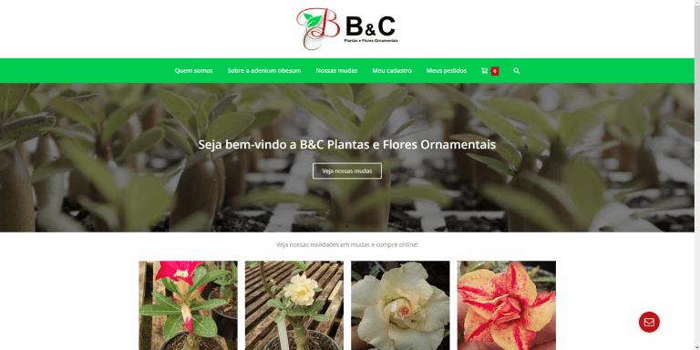 B&C Plantas e Flores Ornamentais
